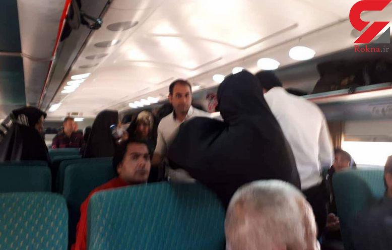 اتفاقی عجیب در قطار تهران - مشهد + عکس های باورنکردنی