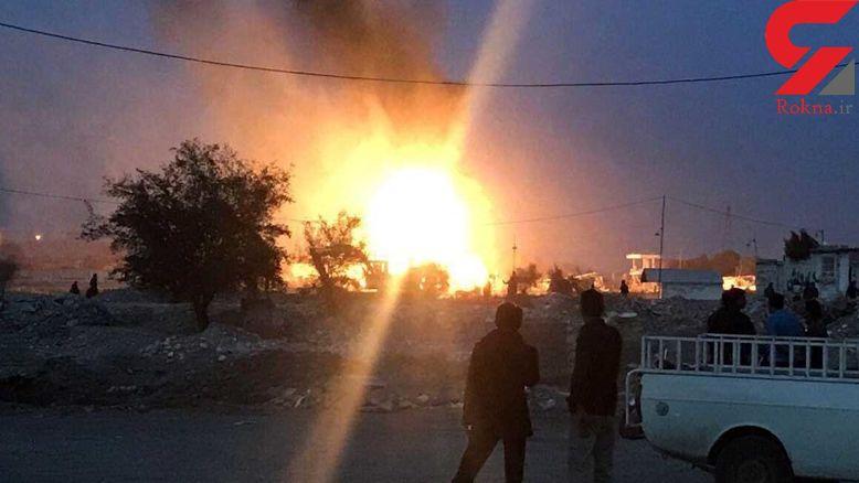 مرگ تلخ یک جوان کارگر به دلیل انفجار مخزن بنزین در خدابنده + عکس