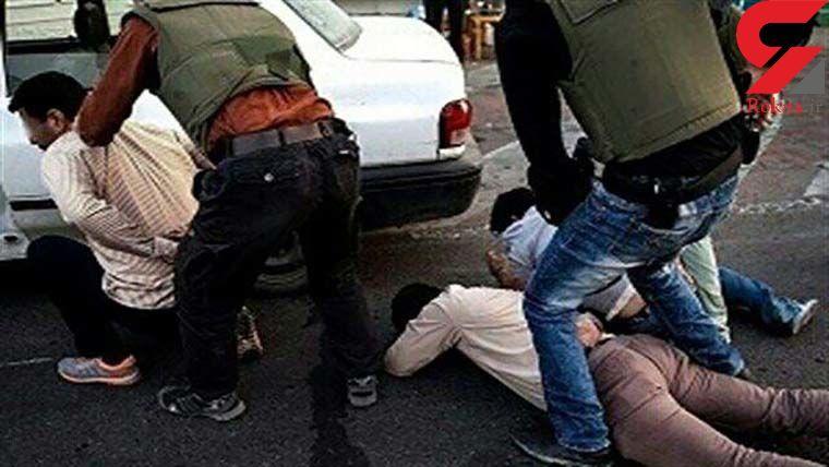 دام پلیس برای مردان قمه به دست خزانه تهران / مردم وحشت کردند