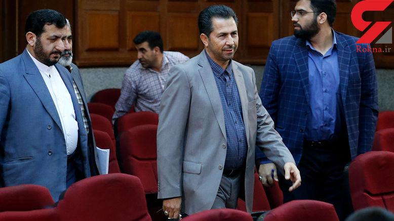قاضی محمدی کشکولی، نجفی را محاکمه می کند +عکس و فیلم