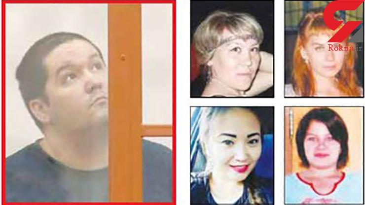 اقدام پلید مسافرکش خارجی با 8 زن + عکس شیطان
