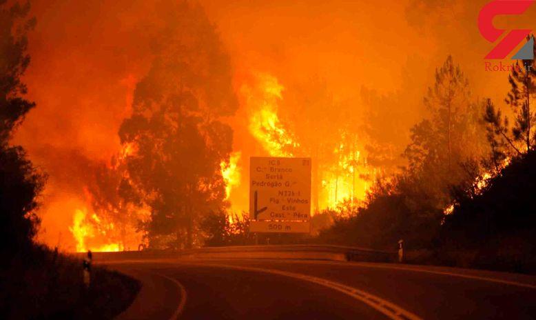 تعویق روند بازگشایی مدارس کالیفرنیا به دلیل ادامه آتش سوزی گسترده