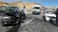10 قربانی در حادثه خونین جاده مهریز +عکس