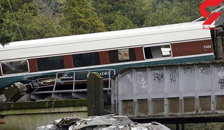 خروج قطار از ریل در هند 7 کشته و دهها مجروح برجا گذاشت