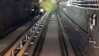 تست دود خط ۷ مترو تهران با موفقیت انجام شد