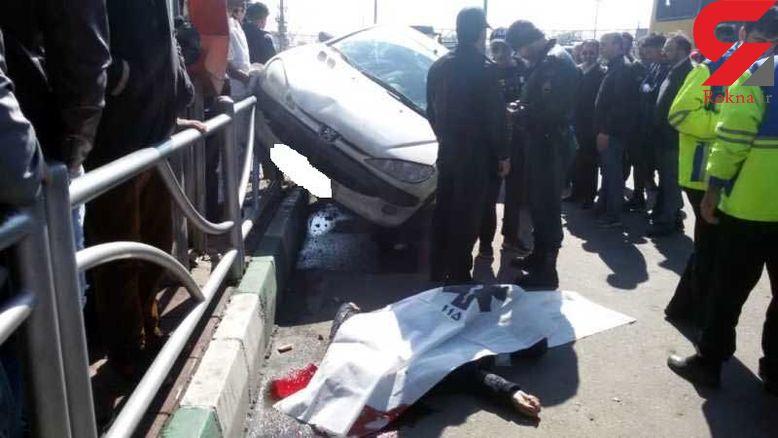 مرگ جوان 30 ساله تهرانی در ایستگاه اتوبوس+ عکس دلخراش