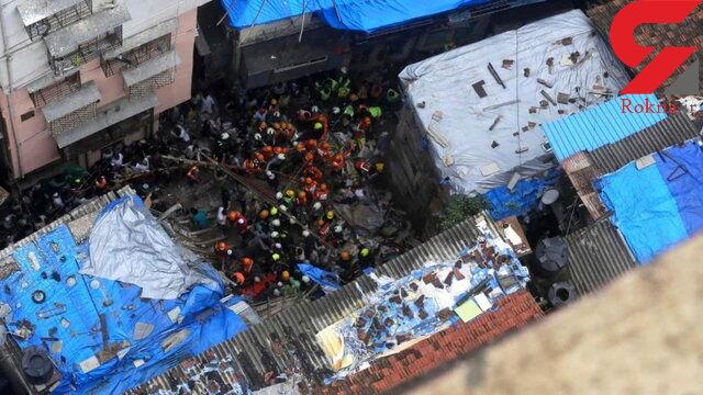 15 هندی زیر آوار 3 ساختمان جان باختند
