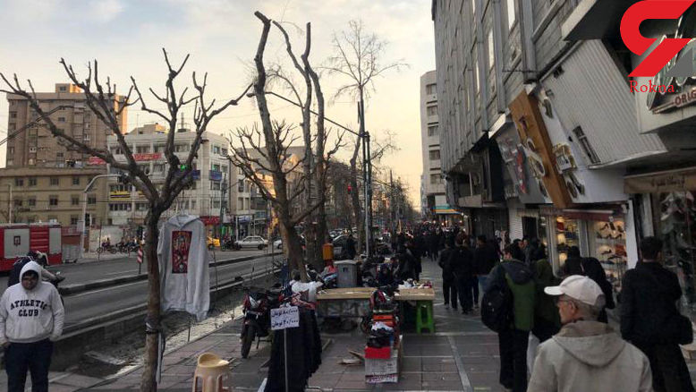 حمله پلیس فرانسه به معترضان جلیقه زرد با ماشین آب پاش + فیلم