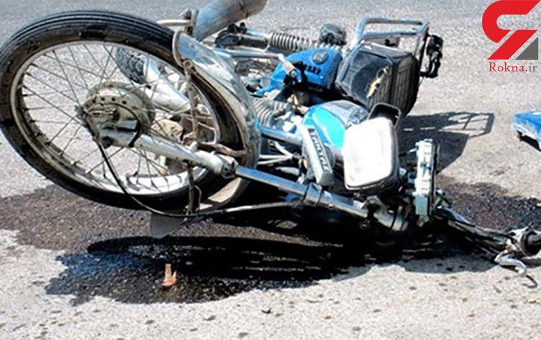 واژگونی مرگبار موتورسیکلت در داراب