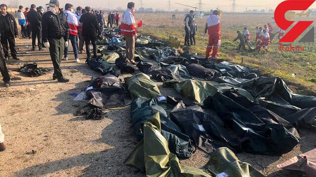 شناسایی 100 نفر از قربانیان سقوط هواپیما اوکراینی
