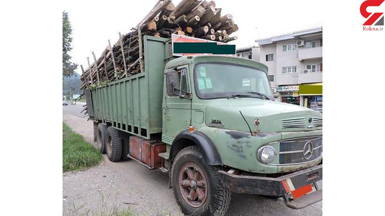 کشف 4 تن چوب قاچاق در رودسر