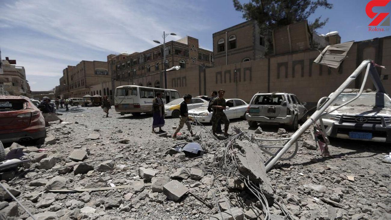 حمله مرگبار توپخانه ای به جسن عروسی در یمن + عکس