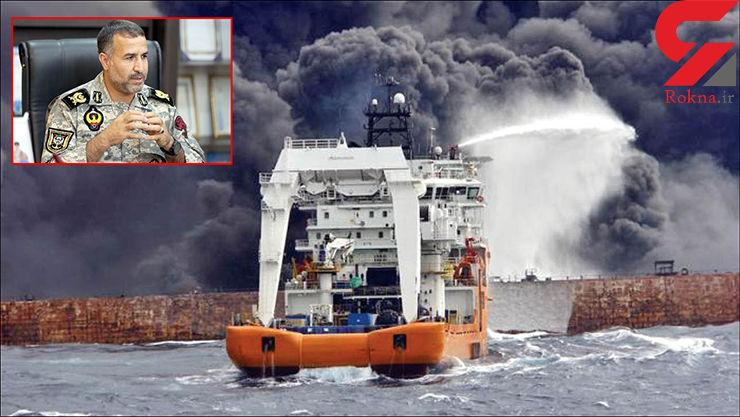 ناگفته های جدال تکاوران دریایی ایران با آتش سانچی / آب دریا در کنار کشتی می جوشید ! + عکس