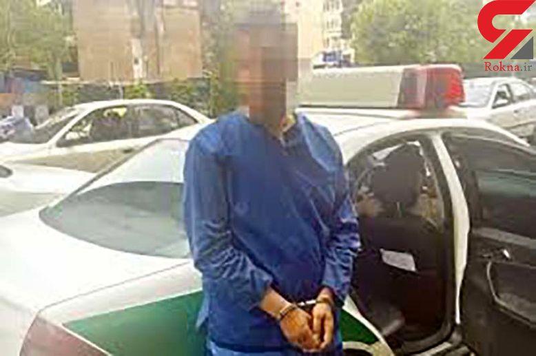 دستگیری سارق شیشه ای / او باطری خودروهای غرب تهران را به سرقت می برد