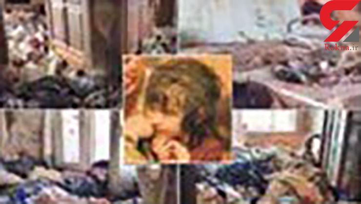 این دختر تارزان واقعی است / او در میان سوسک ها زندگی می کرد + عکس