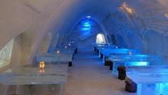رستوران یخی در فنلاند+عکس
