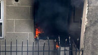 آتش سوزی مشکوک در مسکن مهر سمنان+ عکس