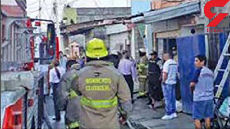 سوختن 17 معتاد به خاطر آتش سوزی در مرکز ترک اعتیاد+ عکس