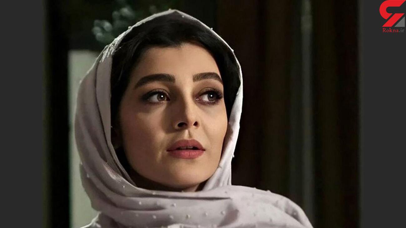 فیلم سانسور پوشش ساره بیات در سریال گیسو