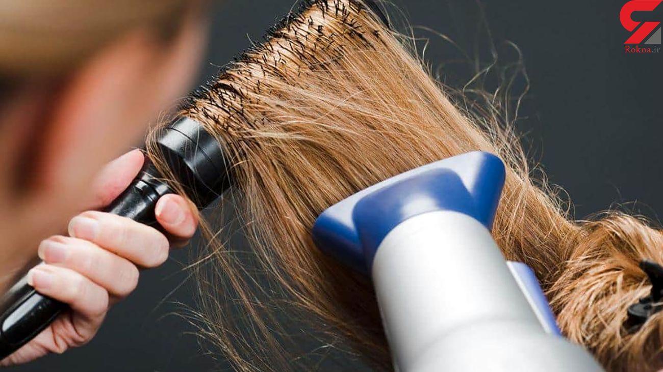 راههای مقابله با خشکی مو