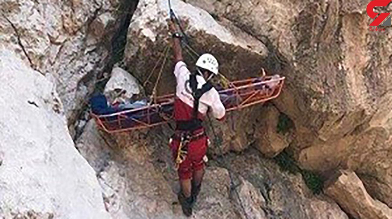 نجات کوهنورد گمشده در اندیکا
