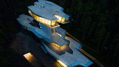 عجیب ترین خانه یک میلیاردر + فیلم