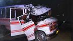 14 زخمی و کشته در 2 تصادف گناباد و نیشابور
