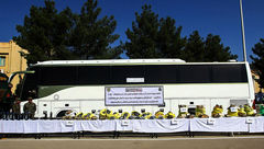 توقیف اتوبوس در پی کشف محموله قاچاق در پایانه مسافربری جنوب