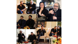 صحبت های تند مسعود کیمیایی در منزل ناصر ملک مطیعی +فیلم