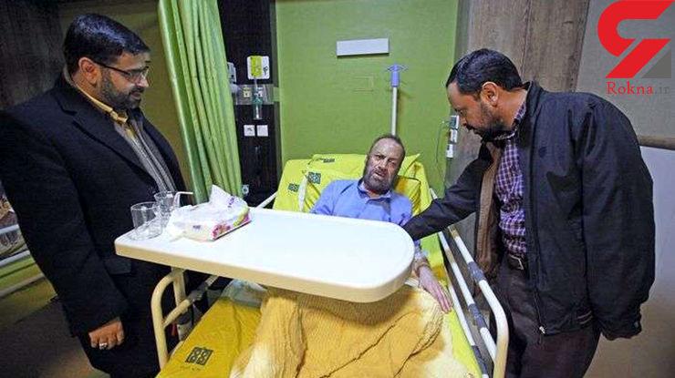 مداح معروف چشم انتظار معجزه / برای او دعا کنید+ عکس