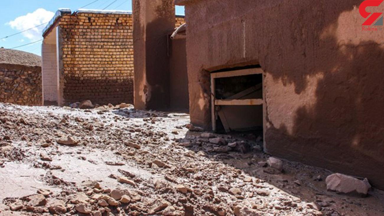 تگرگ ویرانگر در اصفهان تعدادی خانه را تخریب کرد +عکس