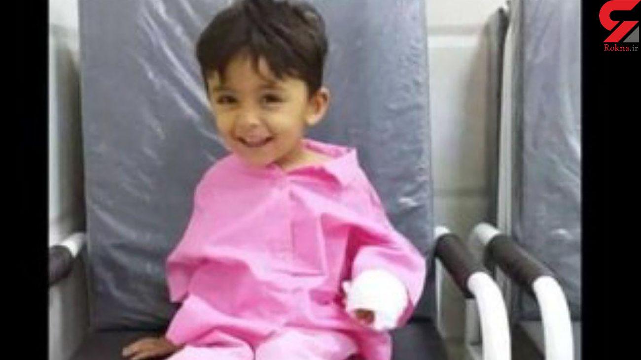 اولین عکس از کودک آبادانی که به خاطر یک عمل ساده در بیمارستان جان داد