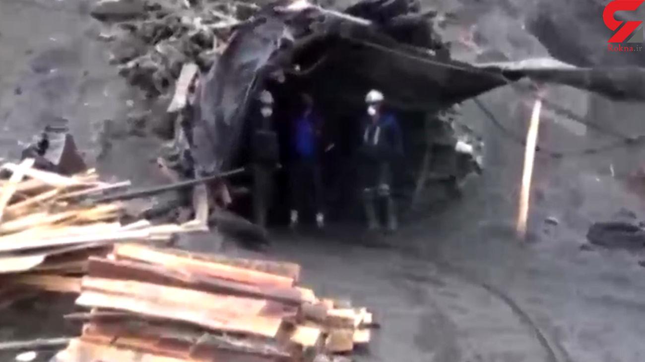 عملیات سخت نجات در معدن طرزه + فیلم و آخرین خبر