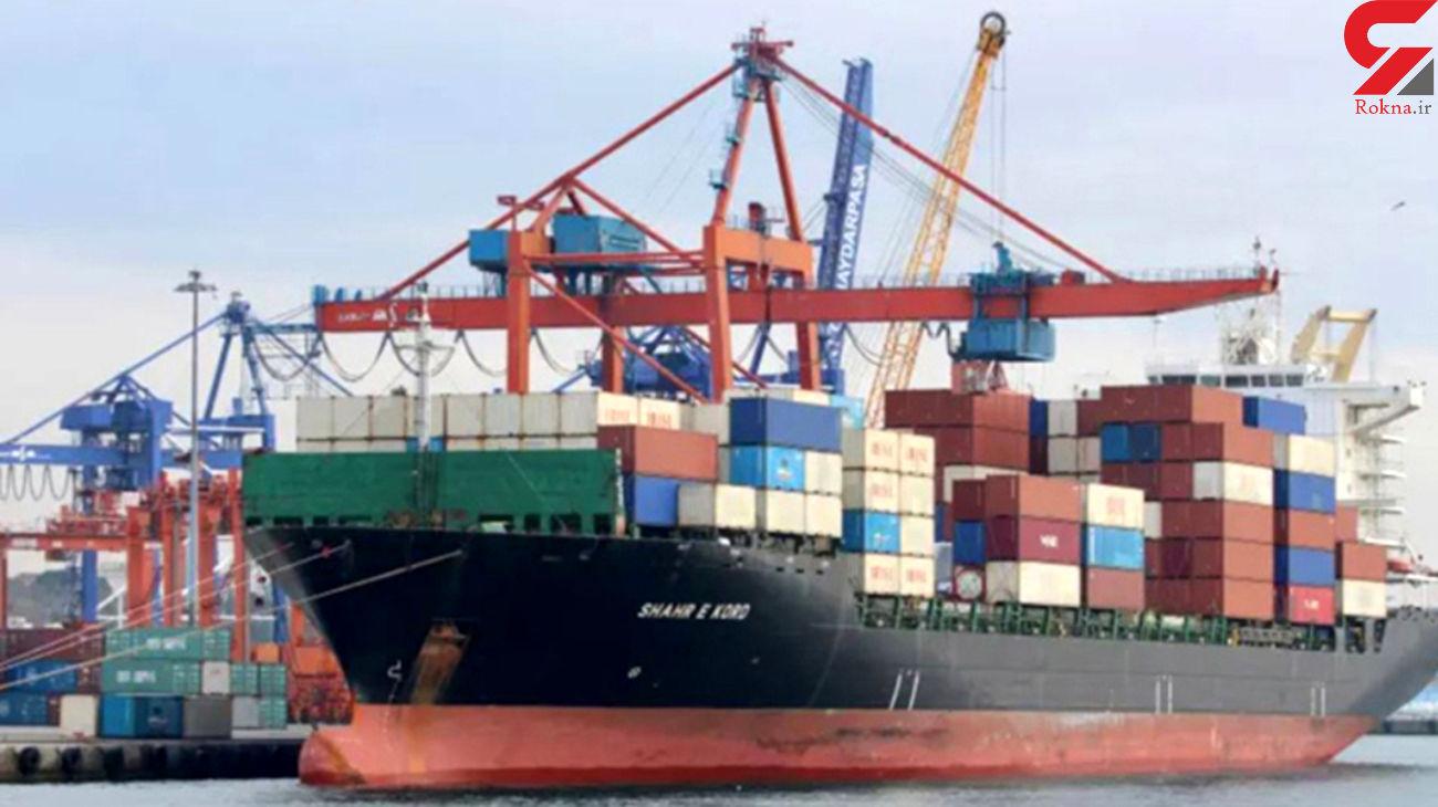 غرق شدن کشتی ایرانی در روسیه