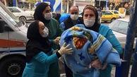 پرستار ارومیه ای در آخرین روز کاریش فرشته نجات مادر و کودک شد + عکس
