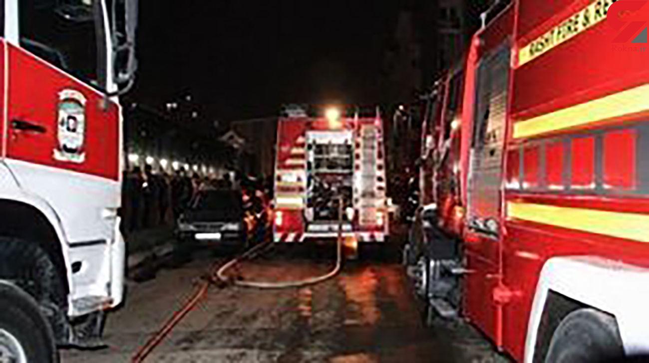 حمله کرونا به آتش نشانان این شهر ! / همه نگرانند!
