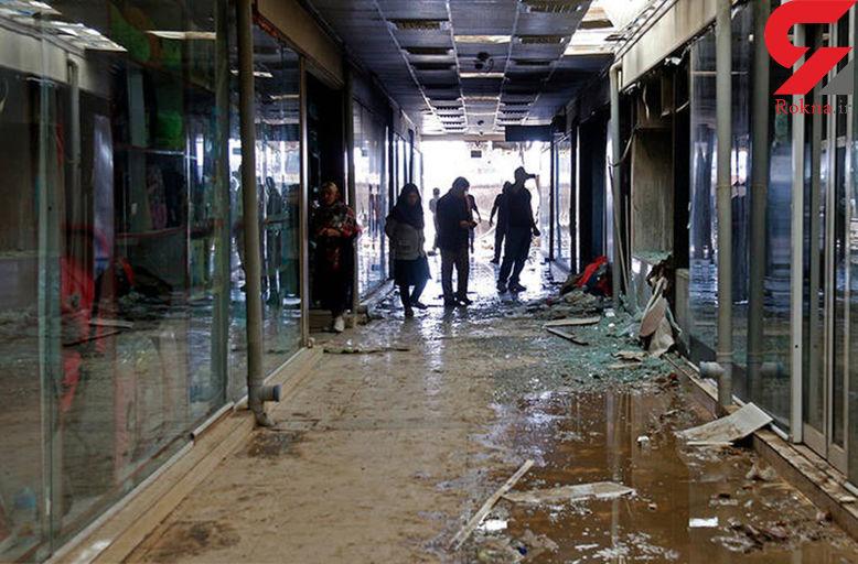 دلیل آتش سوزی بازار کنزالمال در خرمشهر چه بود؟