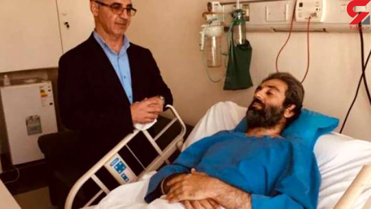 حمله مردان نقابدار مسلح به محیط بان گتوندی / او یک پایش را از دست داد + عکس
