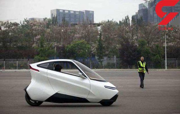 چینی ها خودروی بدون فرمان و پدال ساختند