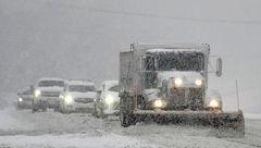 4 کشته در بارش برف و باران آمریکا+عکس