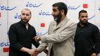 سهراب اِم جِی خواننده زیر زمینی در مراسم ویژه حاج حسین + عکس