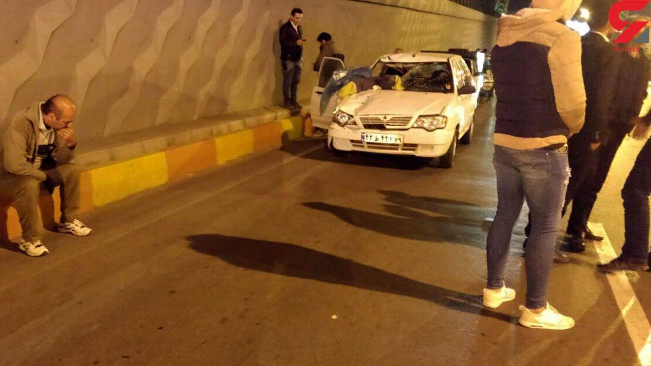 مرگ پاکبان شهرداری وسط خیابان / جوان مرودشتی بازداشت شد + عکس