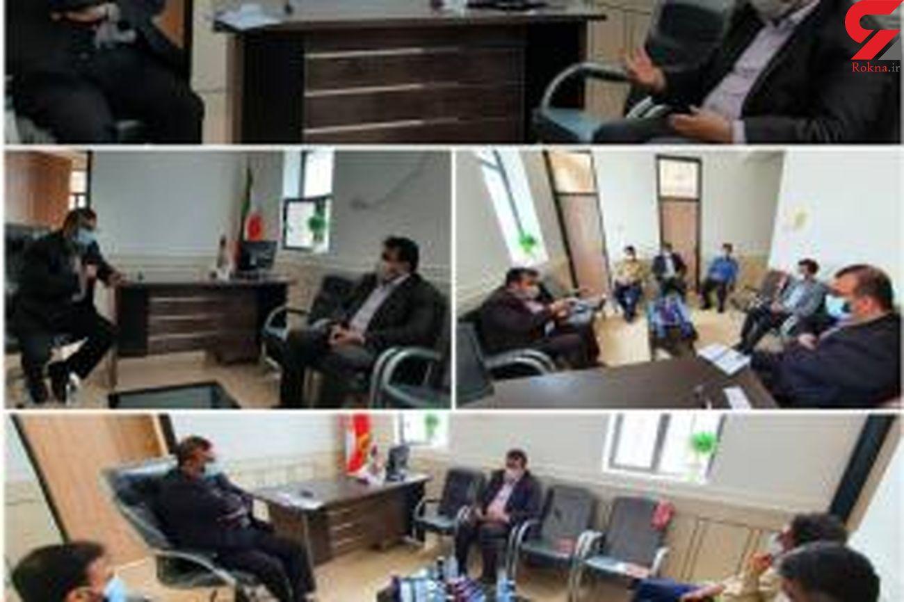 دیدار مدیرکل ورزش و جوانان هرمزگان با نماینده مردم غرب استان در مجلس شورای اسلامی