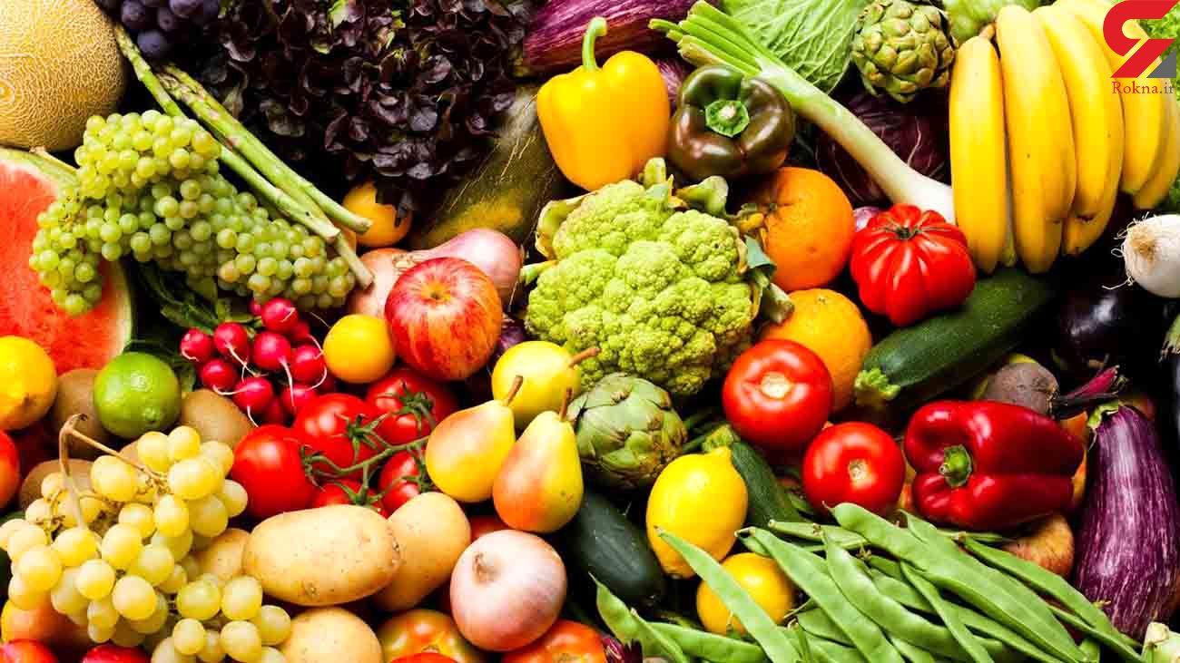 قیمت میوه و سبزی در آخرین روز مهر ماه / اختلاف قیمت 7 هزار تومانی گوجه از بازار تا مغازه + جدول