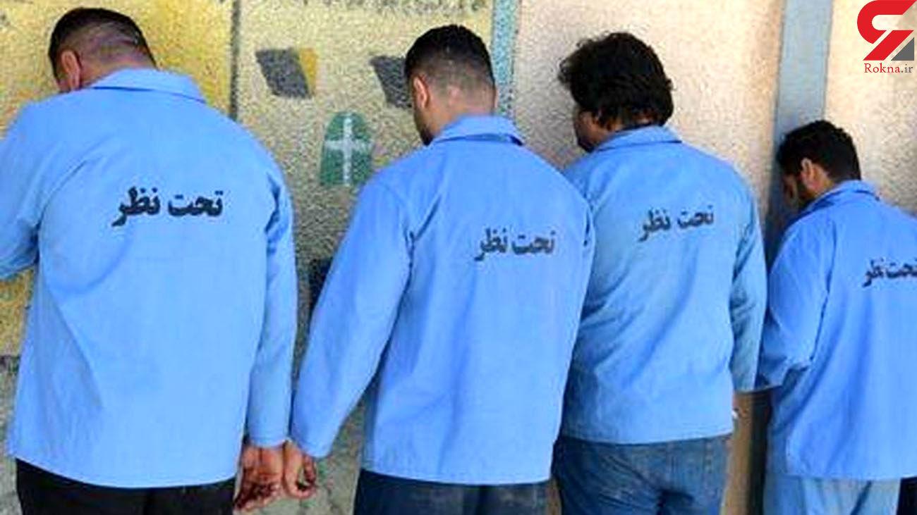 دستگیری4 سارق حرفهای در مینودشت