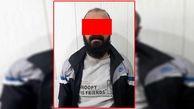 دستگیری متهم آبادانی بالای چراغ برق +عکس