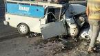 تصادف در جاده دامغان با 4 زخمی + عکس ها