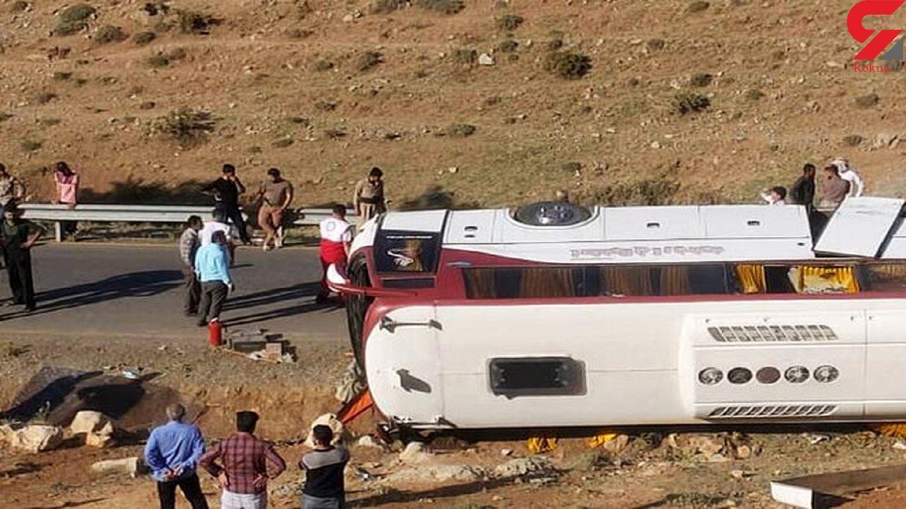 اعلام نتیجه قطعی بررسی علت حادثه اتوبوس خبرنگاران تا یکشنبه+ فیلم