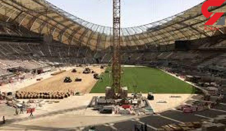 آتش سوزی در یکی از ورزشگاههای میزبان جام جهانی ۲۰۲۲ قطر