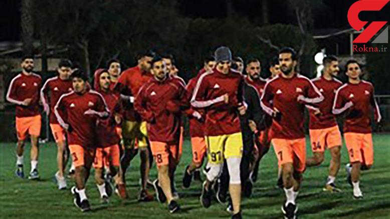 حضور مهاجم الجزایری در تمرینات تراکتور